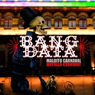 "Los miembros de Bang Data llevan casi tres años juntos, luego de tener sus propios proyectos: Deuce Eclipse con Zion I Crew y J-Boogie Dubtronic, Dave Lopez con Flipsyde y Caipo con Orixa. Tras el debut de su producción primogénita ""Maldito Carnaval"", han tenido un aceleradísimo año que incluye presentaciones en respetables foros como el Fillmore, el House of Blues (en Los Angeles y Las Vegas) entre otros. Han atraído la atención de varios medios, recibiendo menciones en MTV3, Alt.Latino de NPR,  el semanal East Bay Express, Live 105, Indie 103, sin olvidar que fueron download de la semana en Itunes.  Deuce Eclipse describe a Bang Data como una sopa, pues en ellos se mezclan varios ingredientes que juntos obtienen un sabor formidable. Preparénse para probar este picante, energizante, y por demás caliente mezcla de Latin, Reggae, Hip-Hop & Rock, en vivo  desde los estudios de BAMM.tv, este Jueves 9 de diciembre a las 8:00 pm.  Eva Vargas  BAMM Latino Presents... Bang Data  The members of Bang Data almost have three years together, after having their own projects: Deuce Eclipse with Zion I Crew and J-Boogie Dubtronic, Dave Lopez with Flipsyde, and Caipo with Orixa. Since the debut of their firstborn production ""Maldito Carnaval"", they've had a fast pace year which has included shows in reputable venues such as The Fillmore, The House of Blues (in Los Angeles and Las Vegas) amongst others. They've attracted the attention of various media outlets, receiving mentions on MTV3, Alt.Latino of NPR, the weekly East Bay Express, Live 105, Indie 103, and they were the download of the week on itunes. Douce Eclipse describes Bang Data like a soup, expressing that they are the mixture of different ingredients that together form an irresistible flavor. Get ready to try this spicy, energetic and firey mixture of Latin, Reggae, Hip-Hop & Rock, live from the BAMM.tv studios, this Thursday, December 9th at 8:00 pm.  Eva Vargas"